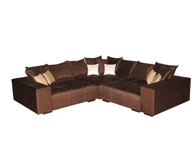 Big Sofa Ecke – Made in Germany – Bezug Alcatex Noble Lux - Freie ...