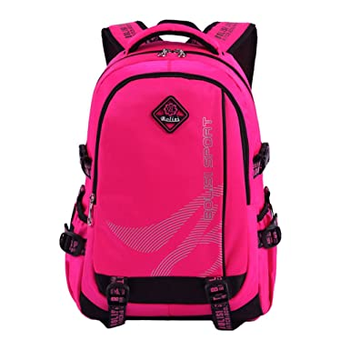 Amazon.com | Large Space Primary School Backpack High School Book ...