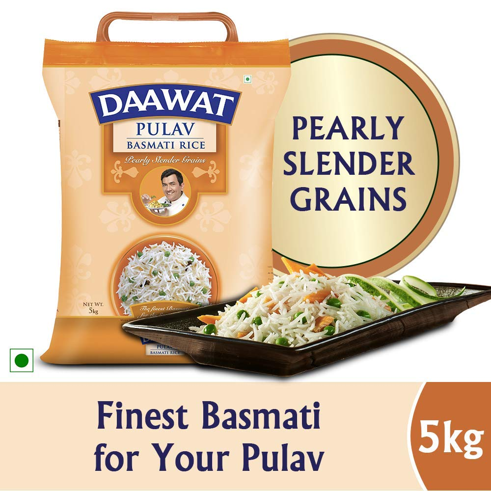 Daawat Pulav Basmati Rice, 5kg (B01H5MBYCI) Amazon Price History, Amazon Price Tracker