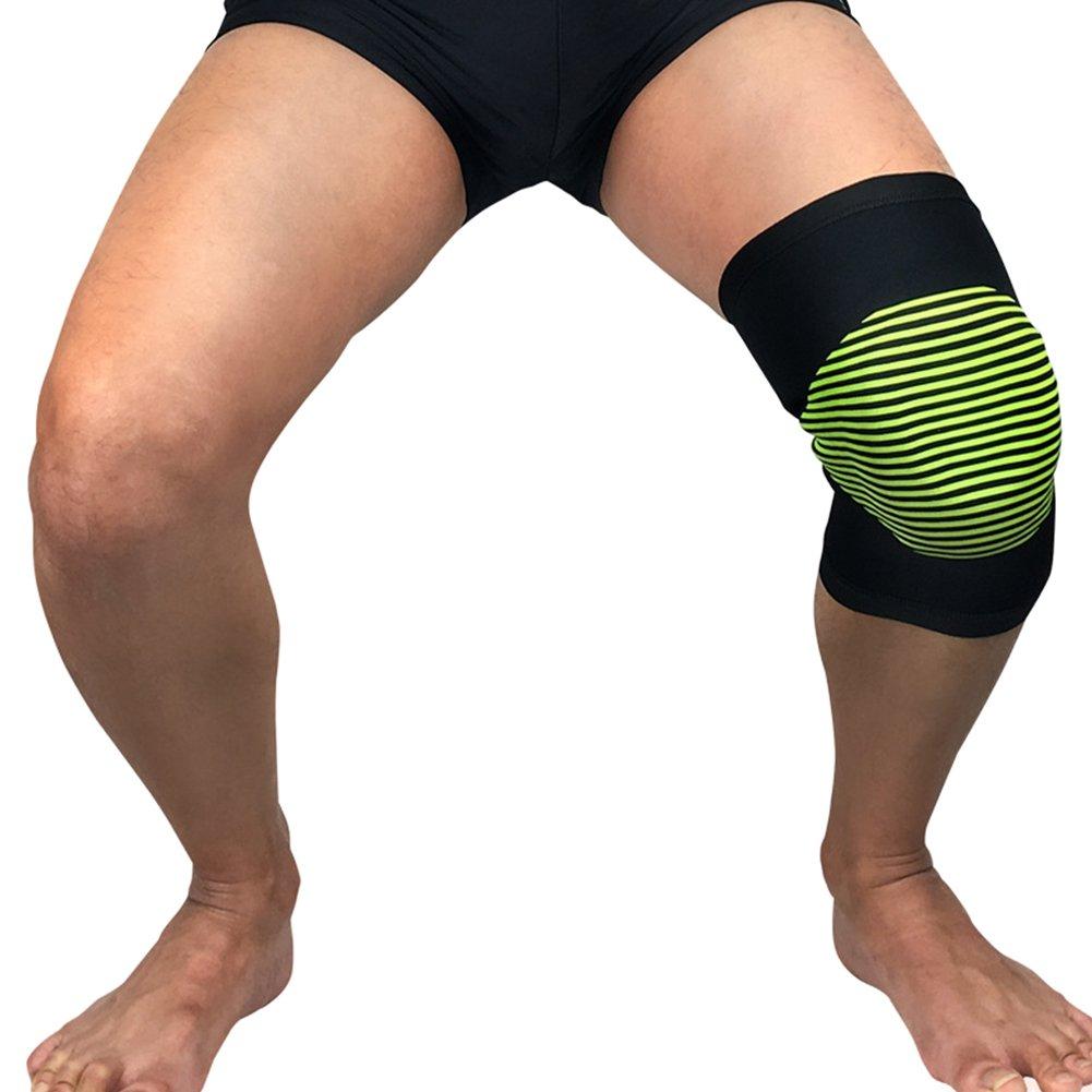 Gracorgzjs Sports Men Breathable Pad Knee Sleeve Support Leg Brace Protector Tool
