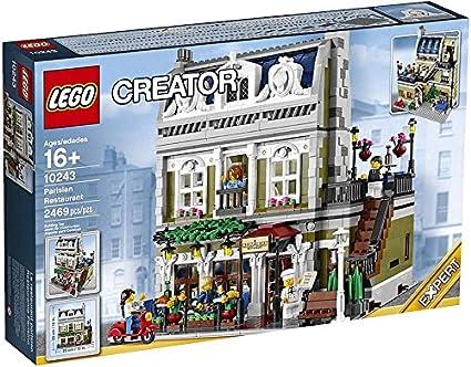 Amazon Lego Creator Expert 10243 Parisian Restaurant Toys Games