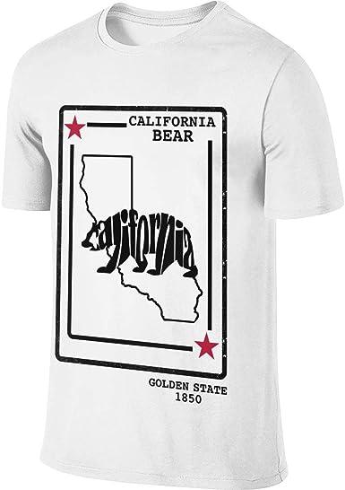 Ytwww123 T Shirt à Manches Courtes pour Homme California