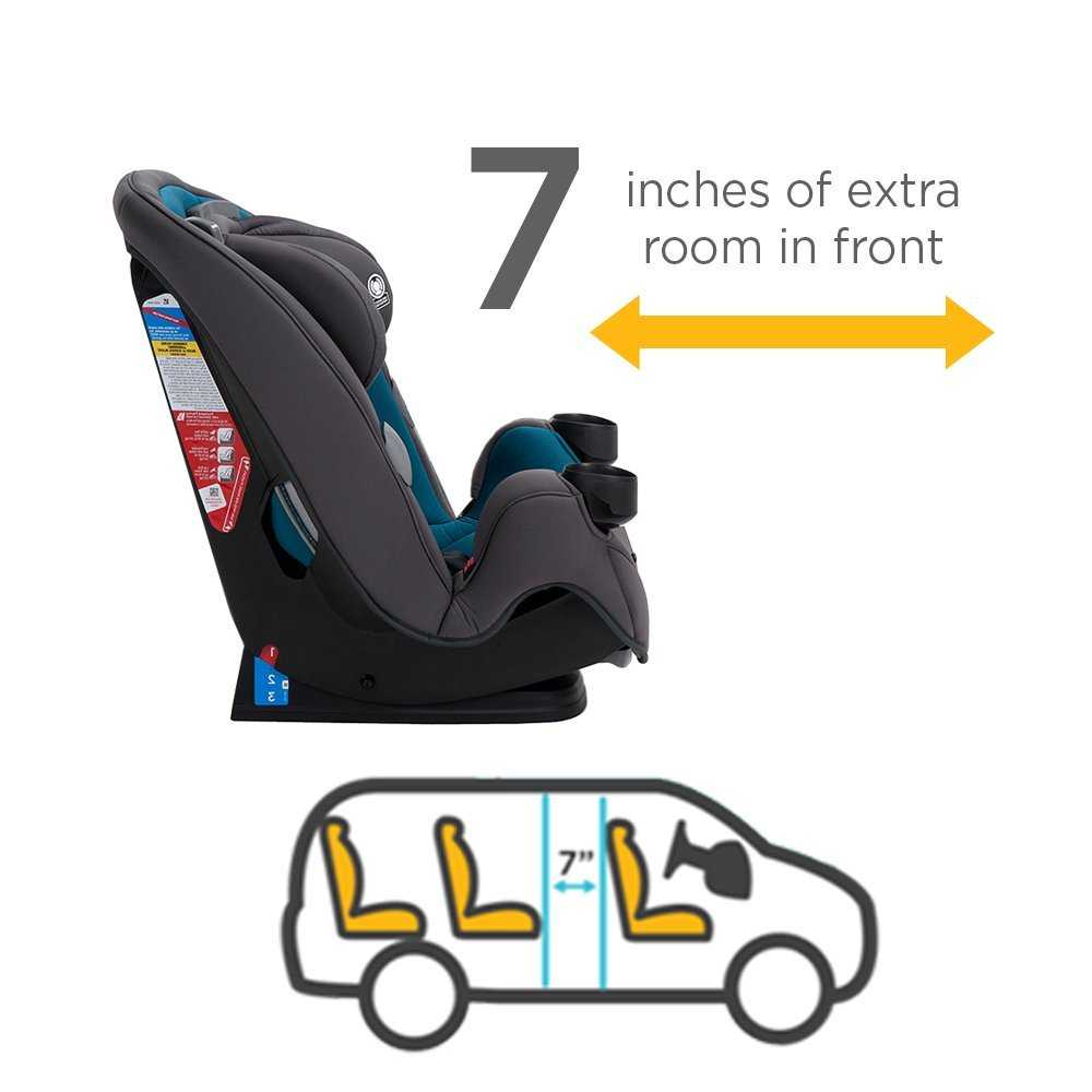 Safety 1st Grow and Go 3-in-1 Convertible Car Seat, Harvest Moon by Safety 1st (Image #4)