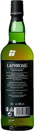Laphroaig Lore Single Malt Whisky Escoces Ahumado, 48% - 700 ml