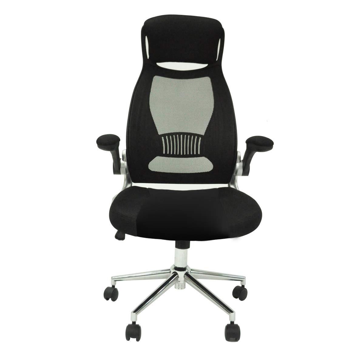 Mesh Computer Office Chair High Back Ergonomic Desk Chair Swivel Executive 26BK (Black)