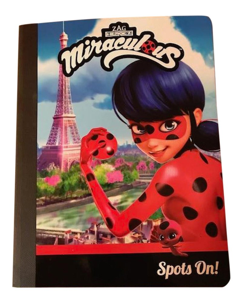 School Supplies for Elementary featuring Miraculous Folders, Writing Tablet, Pencils by School Supplies (Image #4)