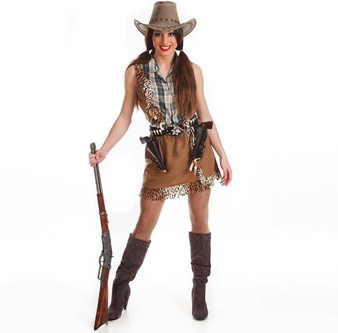 Disfraz de Vaquera para Mujer: Amazon.es: Ropa y accesorios