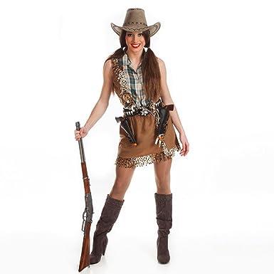 9d124045bf Disfraz de Vaquera para Mujer  Amazon.es  Ropa y accesorios
