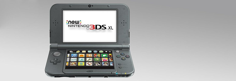 Amazon.com: Nintendo New 3DS XL - Black: nintendo 3ds: New ...