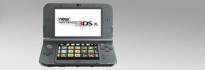 amazon com nintendo new 3ds xl black nintendo 3ds new nintendo rh amazon com Nintendo 3DS XL Clear Nintendo Memes