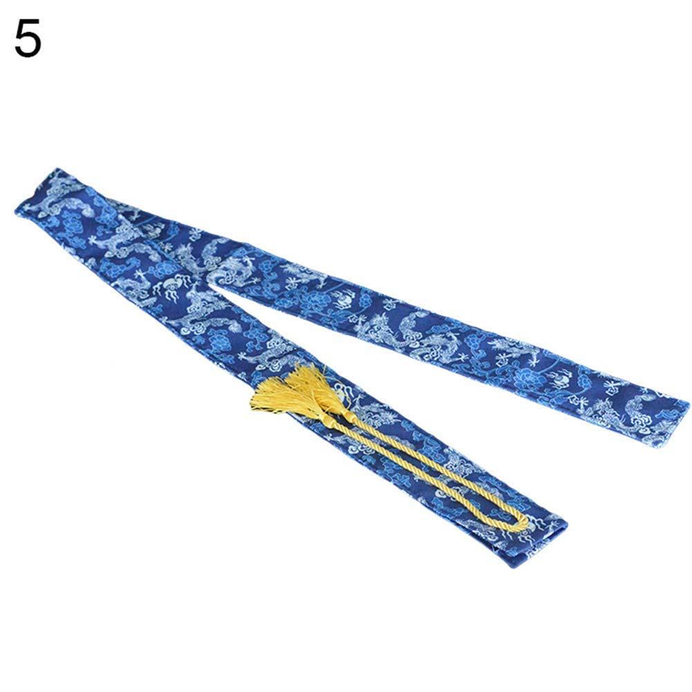 Fishing Accessory,Elastic Nylon Fishing Rod Sleeve Cover Pole Glove Protector Bag Gear Tackle Tool- High Quality