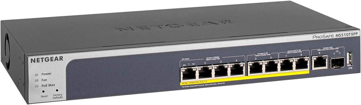 Netgear Ms510txpp 10 Port Multi Gigabit Elektronik