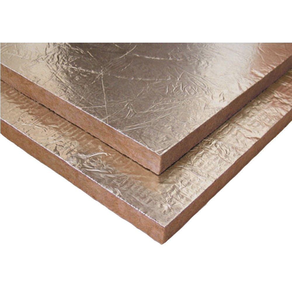 Caja de 10 placas Lana de roca, especial para aislamiento chimeneas, gran densidad 100kg/m3