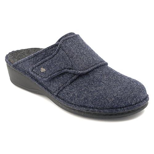 Finn Comfort - Zapatillas de Estar Por Casa de fieltro Mujer: Amazon.es: Zapatos y complementos