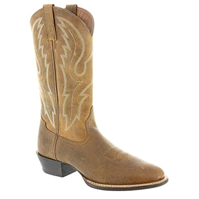 Amazon.com | Ariat Men's Sport Round Toe Boot | Western