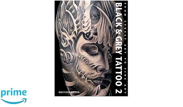 Black & Grey Tattoo 2: Dark/Horror: Amazon.es: Kakoulas, Marisa ...