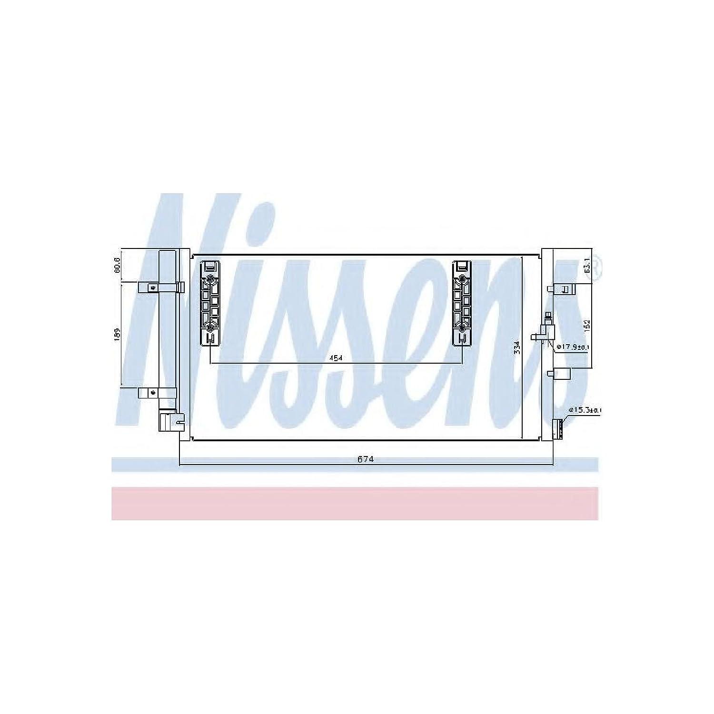 Nissens 940042 Condenser, air conditioning AutoMotion Factors Limited