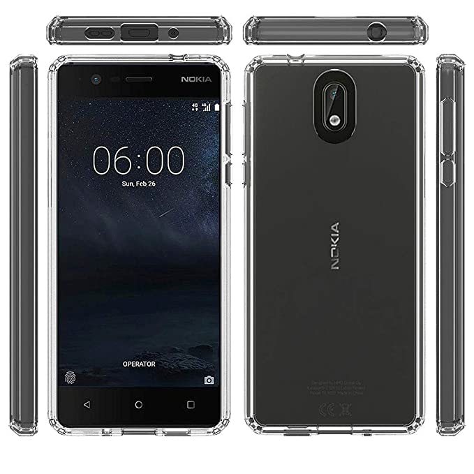 Amazon.com: Funda para Nokia 3.1 (2018), Telegaming Ultra ...