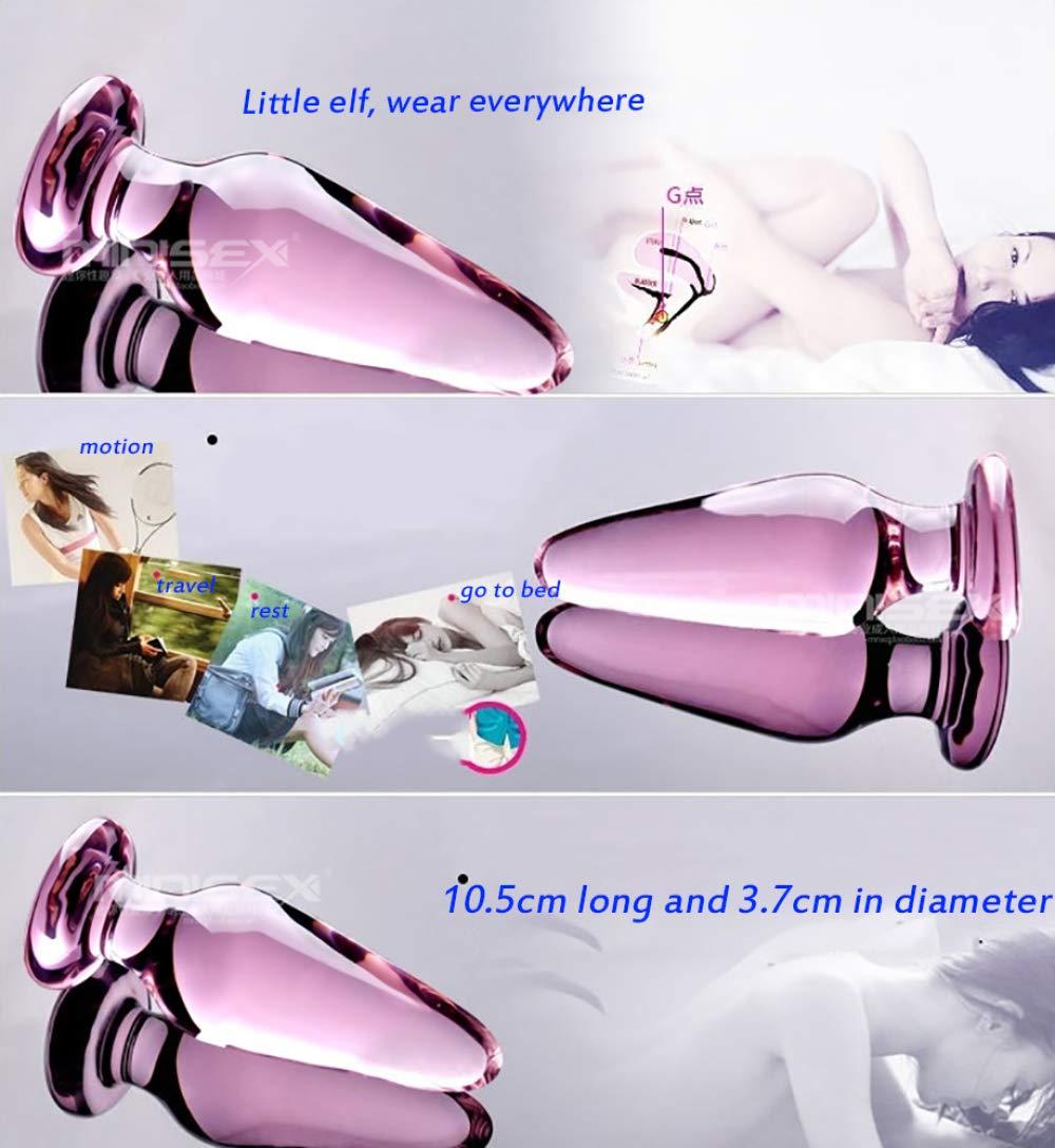 SEYXX Plug Play para Vibradores Masajeador Producto Excitado Estimulación Bloqueo Vidrio De Vidrio Bloqueo Plu Bloqueo Damas Electrodomésticos,A-Small d189c5