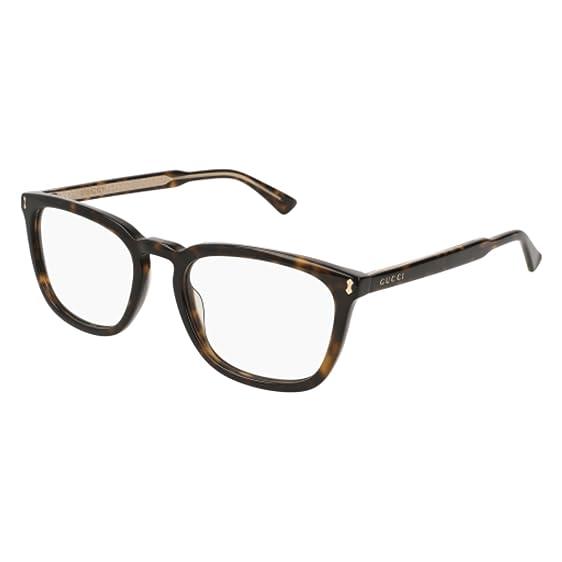 e4e220263288 Amazon.com: Eyeglasses Gucci GG 0126 O- 007 HAVANA /: Clothing