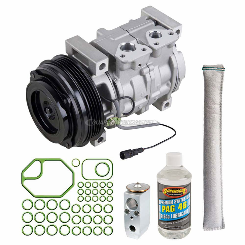 Amazon.com: AC Compressor w/A/C Repair Kit For Suzuki XL-7 & Grand Vitara - BuyAutoParts 60-80461RK New: Automotive