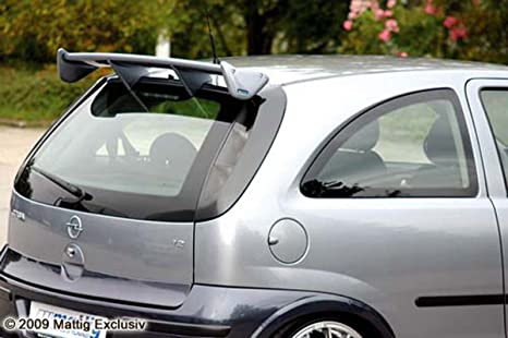 mattig 7072631090 techo Alerón de 5 piezas para Opel Corsa C de Pur TÜV de nota