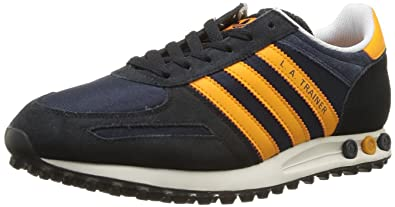 adidas Originals La Trainer 8 D65668, Herren Sneaker, Blau (LEGEND INK S10ORANGE BEAUTY F10WHITE VAPOUR S11),EU 44 23 (UK 10