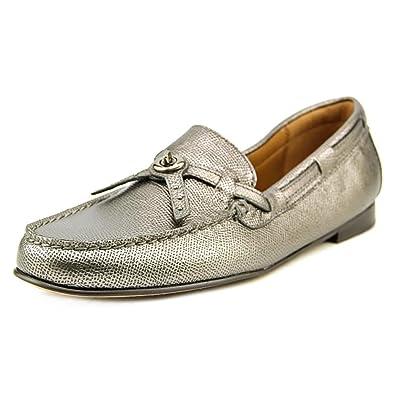 e9a52b19f82 Coach Women s Kara Loafer Gunmetal Shoes ...