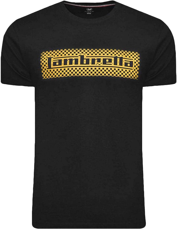 Lambretta Two Tone Logo tee Camiseta para Hombre: Amazon.es: Ropa ...