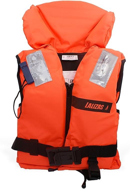 Lalizas Gilets de Sauvetage 100 N; CE ISO 12402-4 Certification 2.2 pour ladulte 50-70 kg