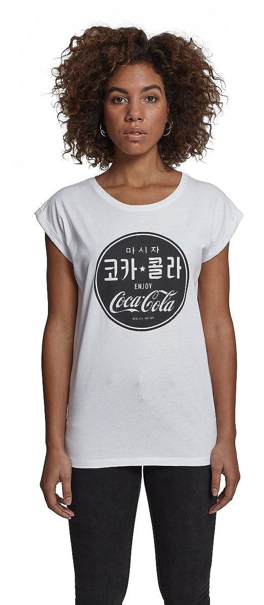 TALLA S. Merch Código Mujer Coca Cola Chinese Black tee–Camiseta