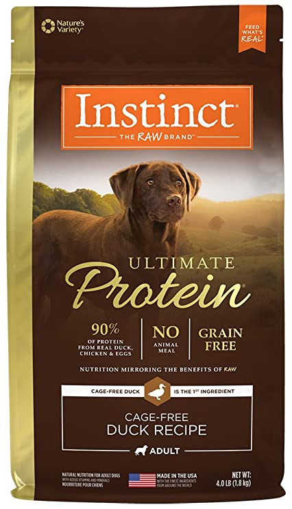 Buy natures variety instinct ultimate protein grain free duck natures variety instinct ultimate protein grain free duck formula dry dog food 4 lb forumfinder Gallery
