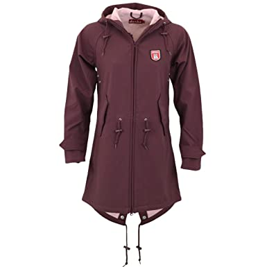 Softshell mantel rosa