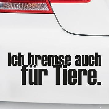 Motoking Autoaufkleber Lustige Sprüche Motive Für Ihr Auto Ich