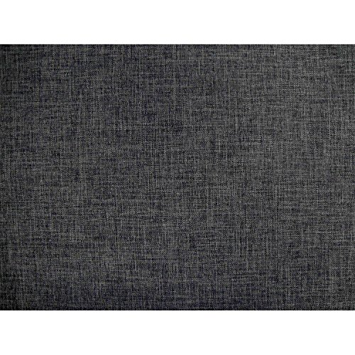Umax Linen Texture Gray Futon Cover Twin Size, Proudly Made in USA (Washable Quality Grade Fabric with Zipper for Easy Removal) - Twin Futon Cover
