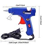 Gliston Mini Blue Glue Gun and Black & Yellow