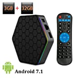 Android TV Box T95Z Plus Android 7.1 Amlogic Octa Core 3GB RAM 32GB ROM Media Player Support 4K Resolution 2.4G/5G Dual WIFI 1000M LAN BT 4.0
