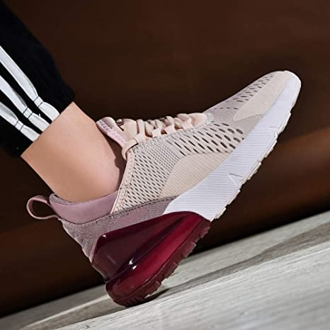 YOPEW Sneakers Women 2019 Ligero Zapatillas de Running para Mujer Air Sole Transpirable High Sport Shoes, 39: Amazon.es: Deportes y aire libre