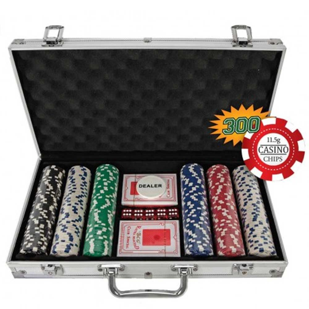 300 chip poker set blackjack self defense weapon