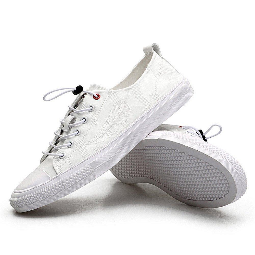 Männer - mode - freizeit - leinwand schuhe, atmungsaktive leinwand schuhe, schuhe, leinwand sport - schuhe,weiße,43 a69b71
