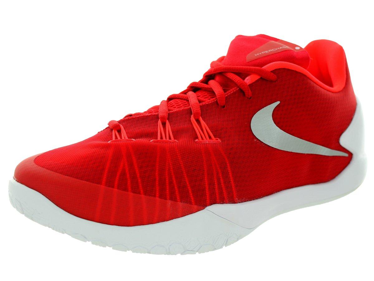 NIKE Unisex Hyperchase TB Basketball Shoe B00Q726H3E uk 10 us 11 eu 45|University Red Metallic Silver White 601