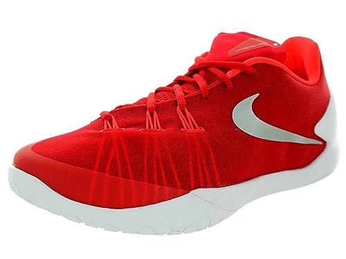 ab4b8ea4a273 Nike Mens Hyperchase TB Basketball Shoe 749554 601 (University Red Mtllc  Slvr White Br