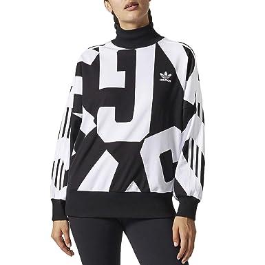 adidas Femme Hauts   Sweat   Pull Adidas Sweatshirt  Amazon.fr ... 5dc1153fa80