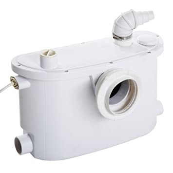 Fäkalienpumpe Hebeanlage Fäkalien pumpe Schmutzwasserpumpe Abwasserpumpe 400W