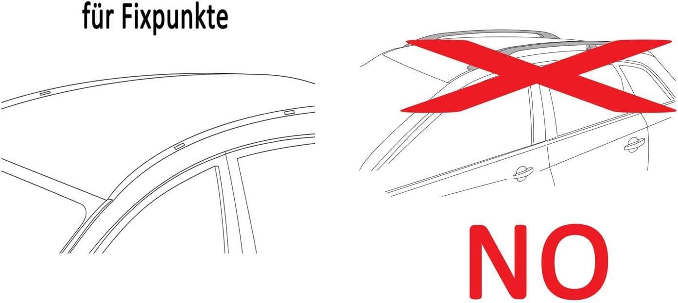 5T/ürer ab 2012 Dachbox VDPBA320 320Ltr carbonlook abschlie/ßbar Stahl Dachtr/äger Aurilis Original kompatibel mit Mazda CX-5