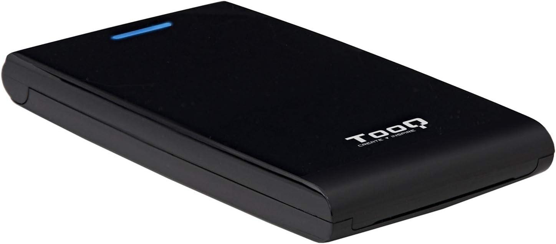 TooQ TQE-2526B - Carcasa para Discos Duros HDD de 2.5