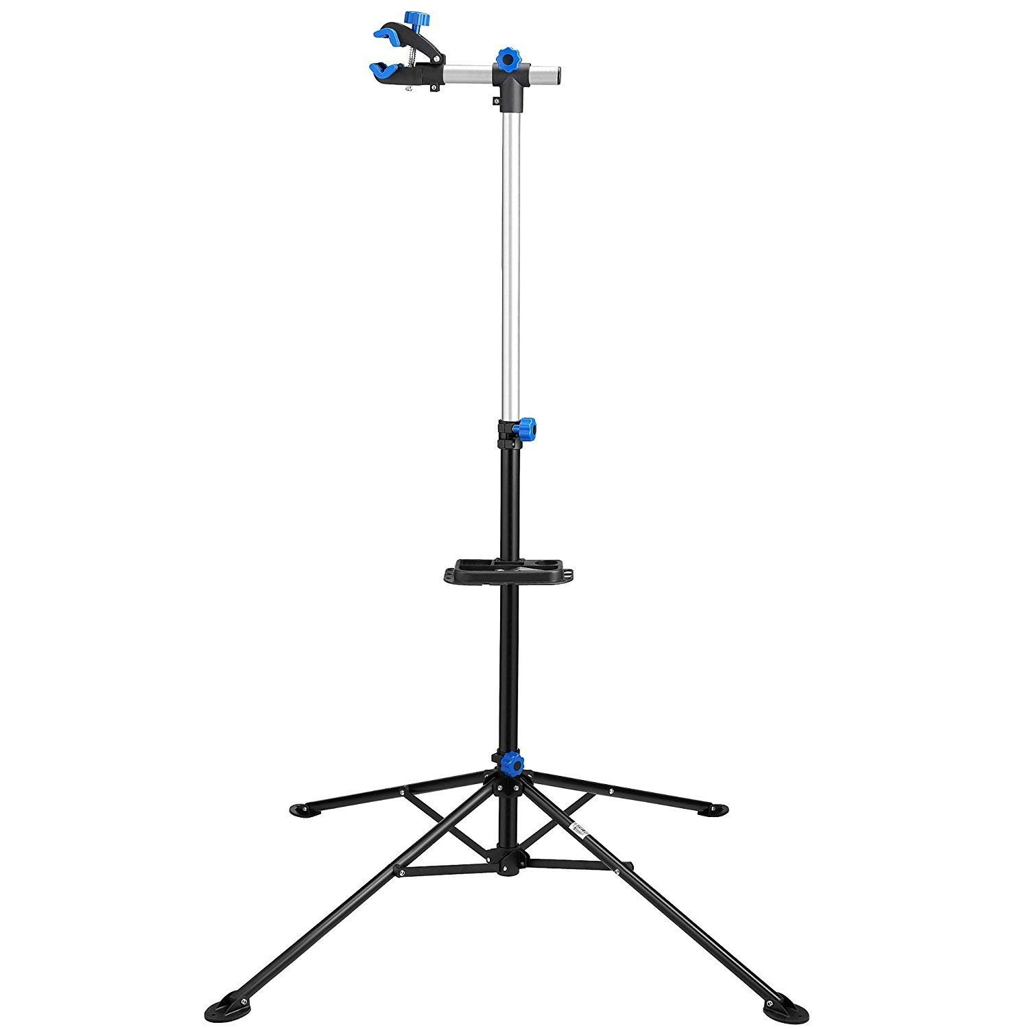 Bike Repair Stand Rack Foldable Cycle Bicycle Workstand Home Pro Mechanic Maintenance Tool Adjustable 41'' To 75'' With Telescopic Arm Clamp Lightweight and Portable by Noa Store (Image #5)