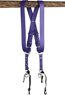 product image for HoldFast Gear Money Maker Vegan 2 Camera Harness (Purple, Medium)