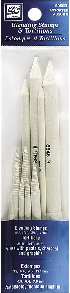 Other, Loew-cornell Blending Stumps And Tortillions 10//pkg-assorted