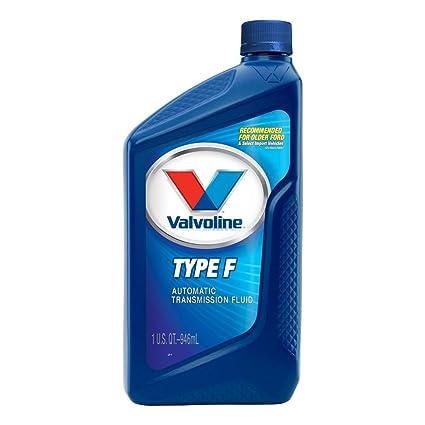 Automatic Transmission Fluid >> Valvoline Type F Automatic Transmission Fluid 1qt Case Of 6 822387 6pk